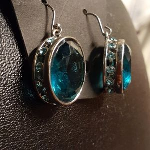 New! Genuine crystal earrings
